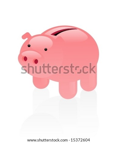 Naive piggy bank.
