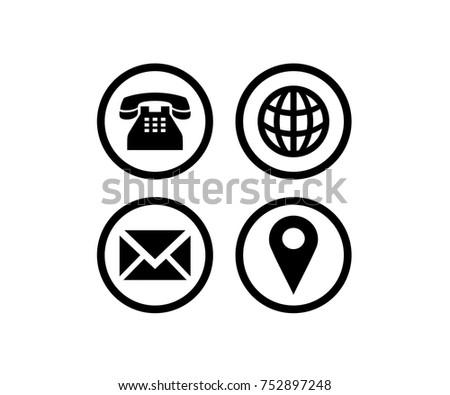 Name Card Symbols Stock Vector 752897248 Shutterstock