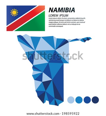 Namibia geometric concept design
