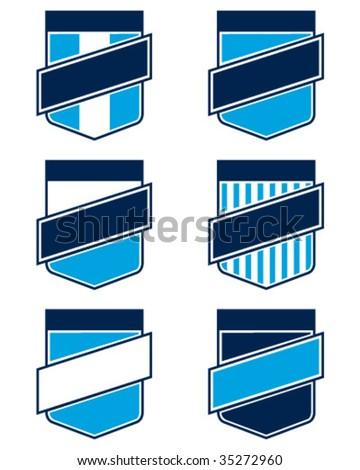national emblems - stock vector