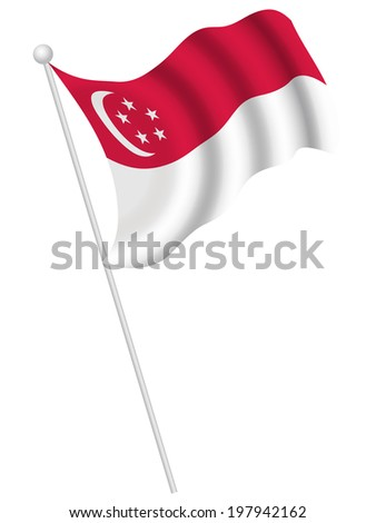National flag national flag - stock vector