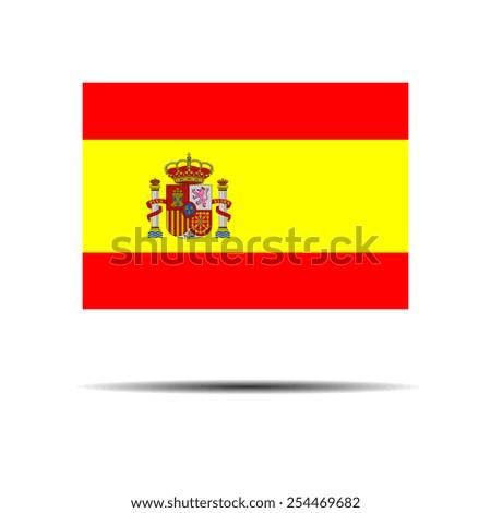 National Flag Of Spain. - stock vector