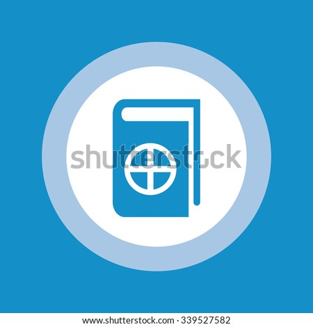 Native Spirituality Book Icon . Vector illustration - stock vector