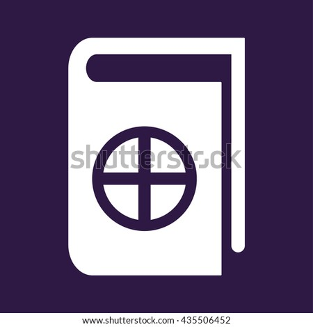 Native Spirituality Book Icon Vector illustration - stock vector