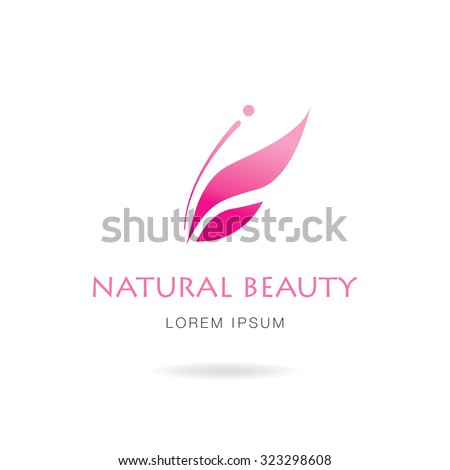 Natural Beauty Logo Design