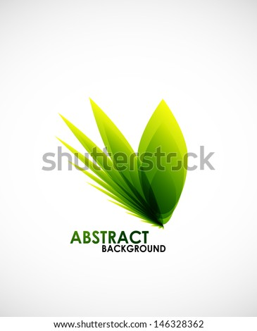Natural business shape - stock vector