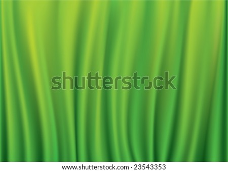natural green background - stock vector
