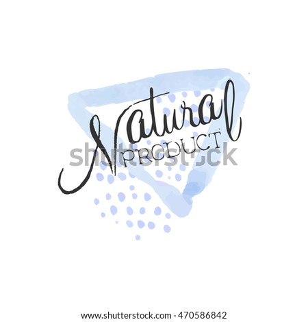 Natural Product Beauty Promo Sign