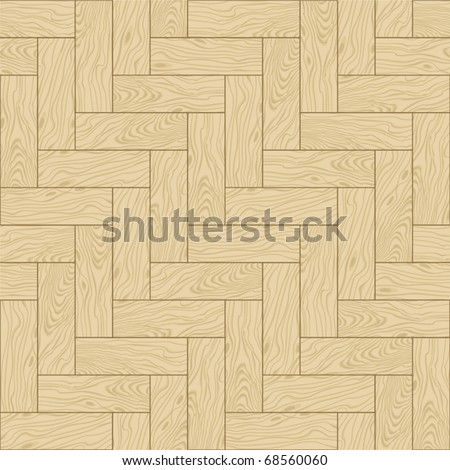 Natural wooden parquet texture. Seamless pattern. Vector illustration