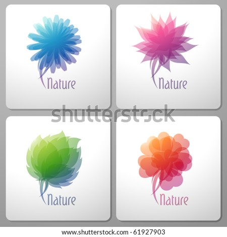 Nature. Elements for design. Vector illustration. - stock vector