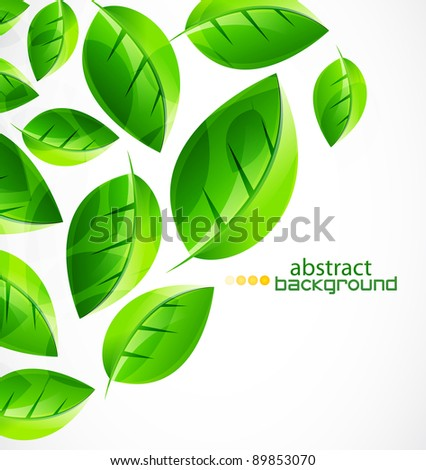 Nature green concept background