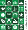 Nature icons - stock vector