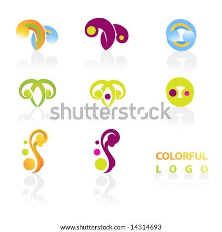 Nature logos. - stock vector