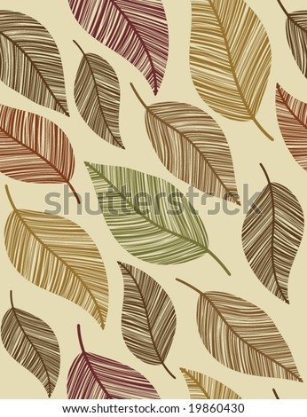 Nature. Seamless background. - stock vector