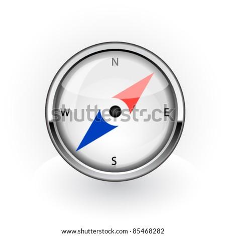 Navigation icon. Vector - stock vector
