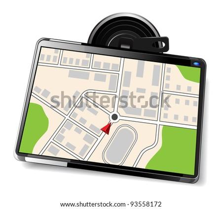 navigator - stock vector