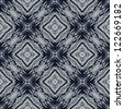 navy blue and grey lines creating simple geometric wallpaper, clean vector design, seamless linear pattern, nice website background or fashionable textile, or holiday wrapping paper - stock vector