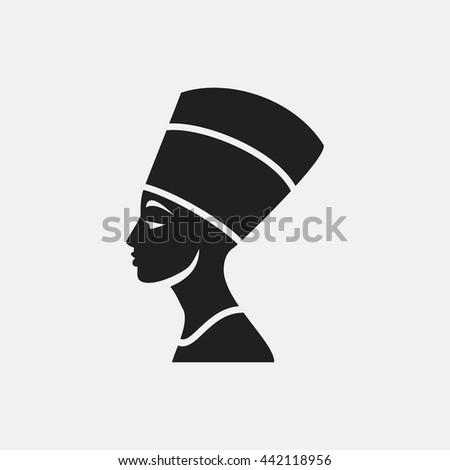 Nefertiti Icon, Nefertiti Icon Eps10, Nefertiti Icon Vector, Nefertiti Icon Eps, Nefertiti Icon Jpg, Nefertiti Icon, Nefertiti Icon Flat, Nefertiti Icon App, Nefertiti Icon Web, Nefertiti Icon Art - stock vector