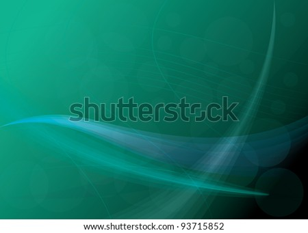 Neon Abstract background with space for your text. vector illustration - stock vector