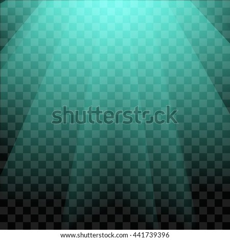 Neon Glow Effect Light - stock vector
