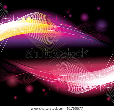 neon lights vector background