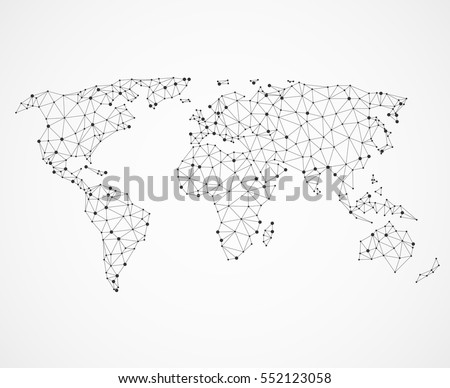 Networking world map texture low poly vector de stock552123058 networking world map texture low poly vector de stock552123058 shutterstock gumiabroncs