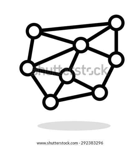 Networks vector - stock vector