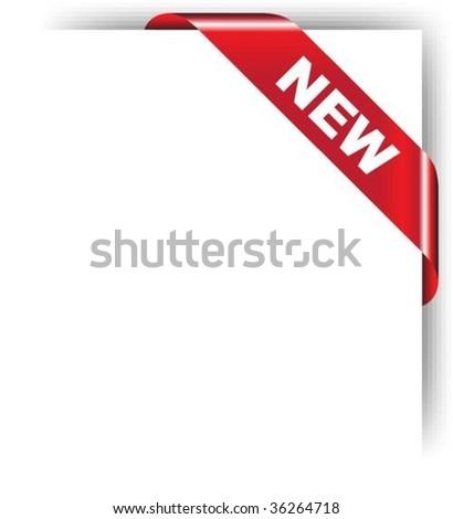 NEW - stock vector
