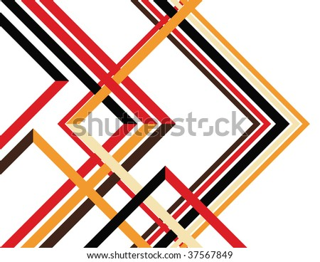 New Angles - stock vector