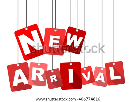 new arrival, red vector new arrival, flat tag new arrival, element new arrival, sign new arrival, design new arrival, background new arrival, illustration new arrival, picture new arrival - stock vector