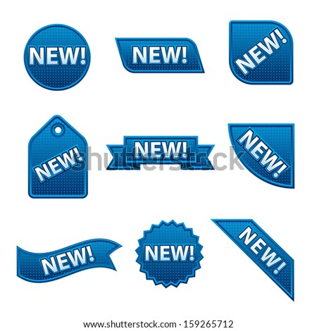 new banners - stock vector