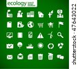 new ecology icons 2 - stock vector