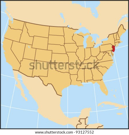New Jersey Locate Map
