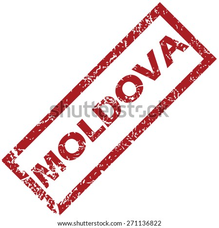 New Moldova grunge rubber stamp on a white background. Vector illustration