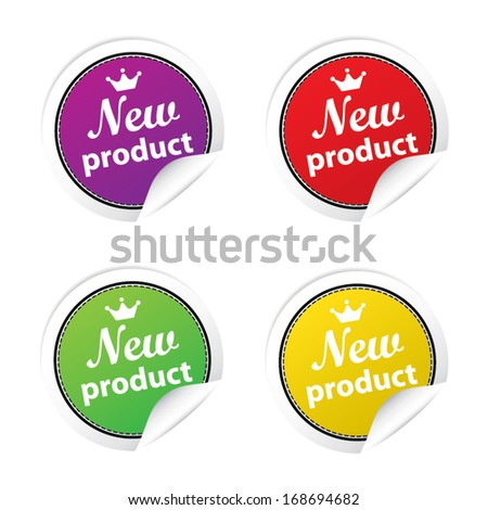 New product - vector.
