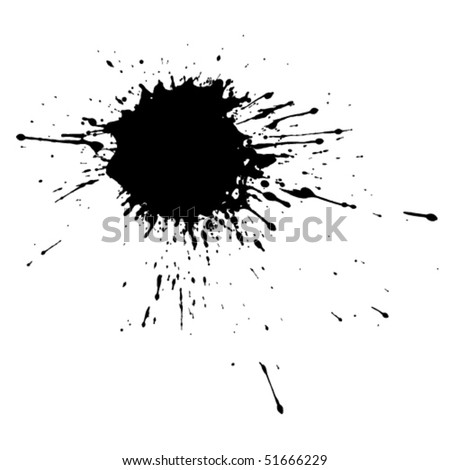 new stains and blots - stock vector