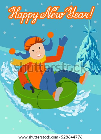 Snow Tubing Stock Images, Royalty-Free Images & Vectors | Shutterstock