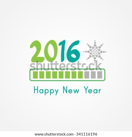New Year coming soon - stock vector