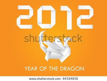 New Year 2012 greeting card, eps10 - stock vector