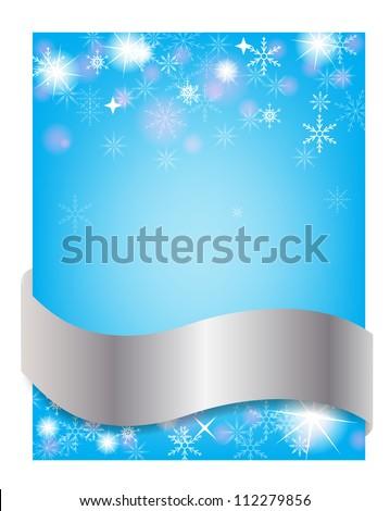 New Year postcard. Vector illustration - stock vector