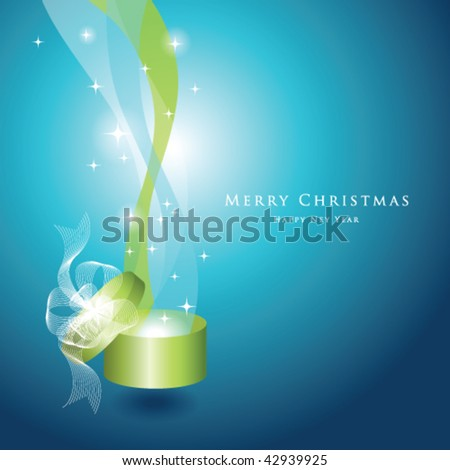New year's card - stock vector