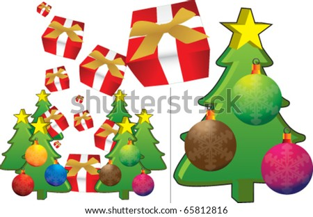 New Year?s Day, Happy Day - stock vector