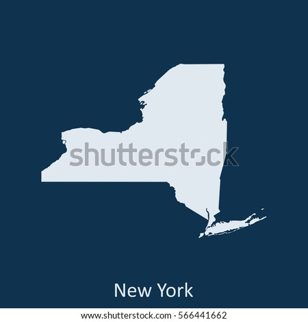 New York State Map Stock Images RoyaltyFree Images