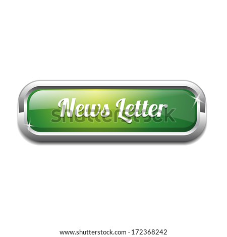 News Letter Rounded Rectangular Button