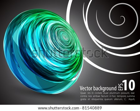 Nice abstract background. - stock vector