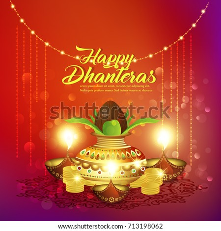 Nice beautiful abstract happy dhanteras nice stock vector 713198062 nice and beautiful abstract for happy dhanteras with nice and creative design illustration in background m4hsunfo