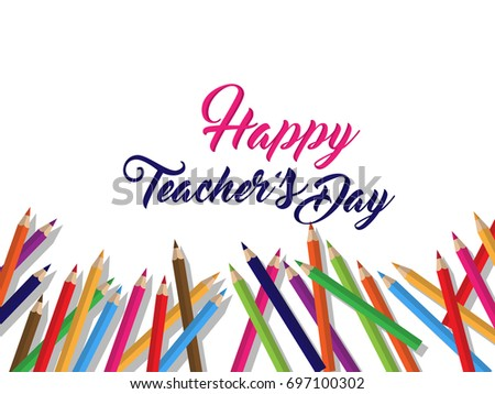 Nice beautiful abstract happy teachers day stock vector hd royalty nice and beautiful abstract for happy teachers day with nice and creative design illustration in background altavistaventures Image collections