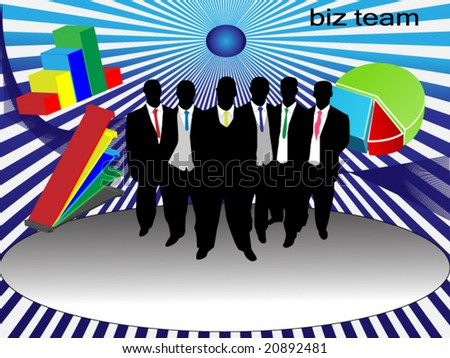 nice conceptual business illustration - stock vector