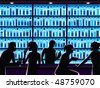 nightlife vector - stock vector