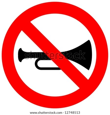 no blowing of horn